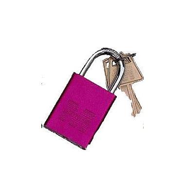 Morris Products Master Key Padlocks; Red