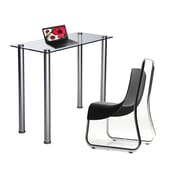 RTA Home And Office Writing Desk; Clear