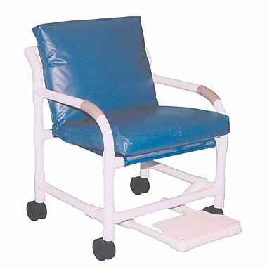 MJM International MRI Transport Chair; Royal Blue