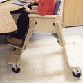 Kaye Products Caster Base for Low Kinder Chair with tray