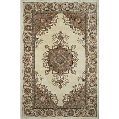American Home Rug Co. American Home Classic Persian Kerman Ivory/Beige Area Rug; 5'6'' x 8'6''