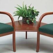 Lesro Weston Series Connecting Corner Table; Mahogany