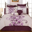 Pointehaven Grapevine 12 Piece Comforter Set; Queen