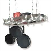 Concept Housewares Oval Steel Hanging Pot Rack
