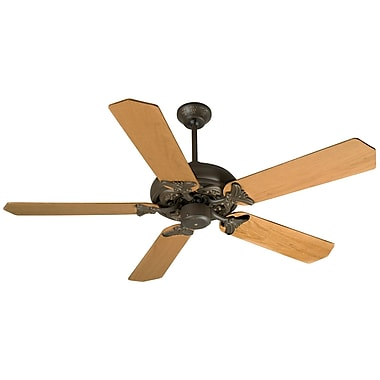 Craftmade Barcelona 5 Blades Ceiling Fan; Aged Bronze