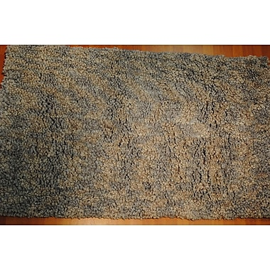 Dynamic Rugs Luxury Shag Gray Area Rug; 8' x 10'