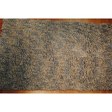 Dynamic Rugs Luxury Shag Gray Area Rug; 8' x 10'
