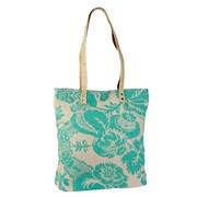 Amy Butler Blue Imperial Ginger Tote Bag