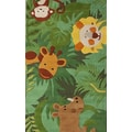 nuLOOM Kinder Safari Friends Kids Rug; 3'6'' x 5'6''