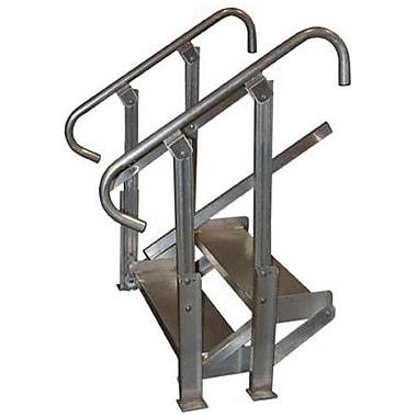 Prairie View Industries Step Stairs; 3 step