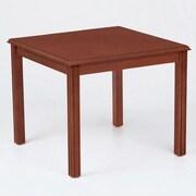Lesro Franklin Series Corner Table; Mahogany