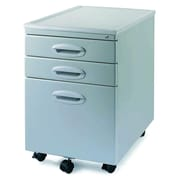 New Spec 3-Drawer Mobile MP-01 File Cabinet; Light Grey
