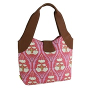 Amy Butler Supernatural Sweet Rose Tote Bag; Passion Lily Turquoise