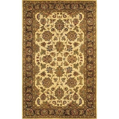 Chandra Adonia Gold / Yellow Area Rug; 2' x 3'