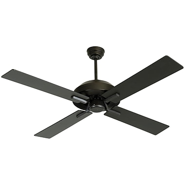 Craftmade 52'' South Beach 4 Blade Ceiling Fan; White