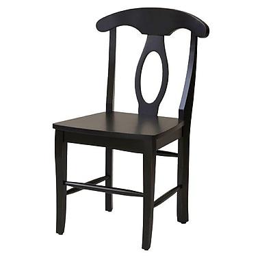 John Boyd Designs Notting Hill Desk Chair; Ebony