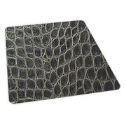 ES Robbins Snakeskin Design Chair Mat; 36'' x 48'' Rectangular, Beveled .110, Carpet