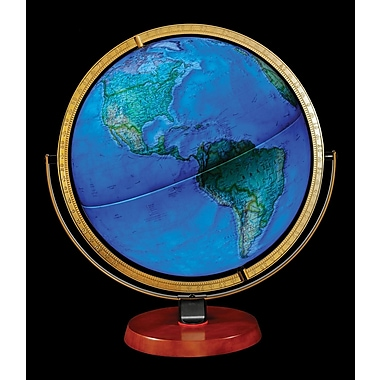 Replogle National Geographic Byrd Illuminated Globe
