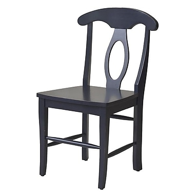 John Boyd Designs Notting Hill Desk Chair; Blue