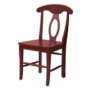John Boyd Designs Notting Hill Desk Chair; Red