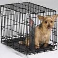 QPets Pet Crate; Medium (20'' H x 17'' W x 24'' L)