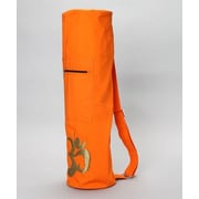 OMSutra OM Shiva Duffel Yoga Mat Bag; Orange