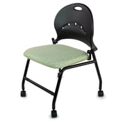 TrendSit Flip Low-Back Desk Chair (Set of 4); Coffee Bean 100pct Recycled