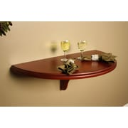American Heritage Chicago Wall Table; Brandy