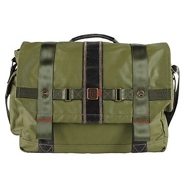 FUL Red Label Messenger Bag; Military Green