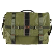 FUL Red Label Messenger Bag; Military Green