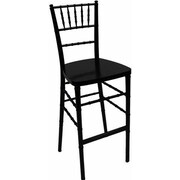 Advanced Seating Chiavari 30'' Bar Stool; Black