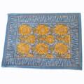 Couleur Nature Sunflower Placemat (Set of 6); Blue