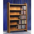Wood Shed 500 Series 275 CD Multimedia Storage Rack; Dark