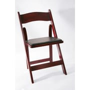 Commercial Seating Products American Classic Wood Folding Chair; Red Mahogany