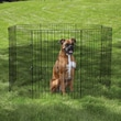 East Side Collection Easy Exercise Dog Pen; Medium (30'' H x 24'' W)