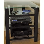 Plateau SL Series Audio / Video Rack; Clear