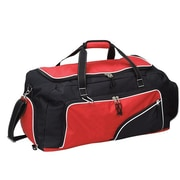 Preferred Nation 26'' Athletic Gym Duffel; Red