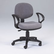 Martin Universal Design Stanford Mid-Back Office Chair with Arms; Gray