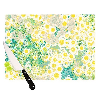KESS InHouse Myatts Meadow Cutting Board; 11.5'' H x 15.75'' W x 0.15'' D