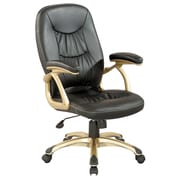 Chintaly Ultra Comfortable High-Back Leather Office Chair
