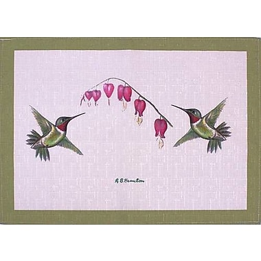 Betsy Drake Interiors Hummingbird Placemat (Set of 4)