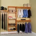 John Louis Inc. Simplicity 12'' Deep Closet System; Honey Maple