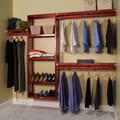 John Louis Inc. Simplicity 12'' Deep Closet System; Red Mahogany