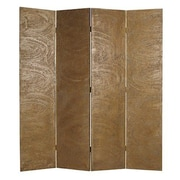 Screen Gems 73'' x 63'' Muse Screen 4 Panel Room Divider