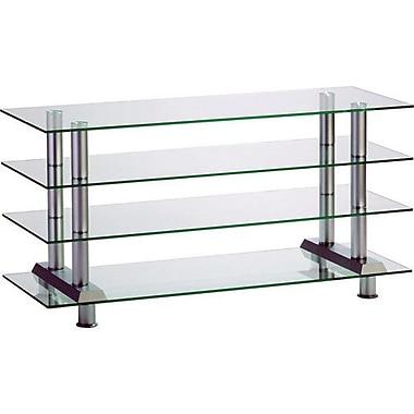 Bentley 22'' Glass Shelf Plasma Stand for Flat Panel Display