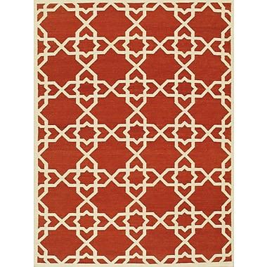 Pasargad Sahara Red/Ivory Area Rug; 8' x 10'