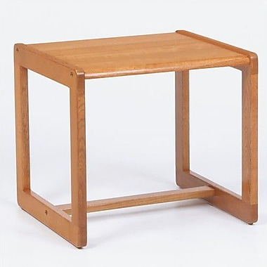 Lesro Classic Series End Table; Natural