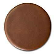 Dacasso 3200 Series Top-Grain Leather Coaster in Rustic Brown