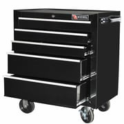 Excel 26.8''W 5-Drawer Tool Chest; Black