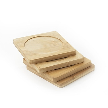 Natural Home Coasters (Set of 4)